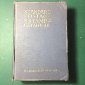 民国·英文原版·美洲集邮:1947年《斯科特标准邮票目录STANDARD POSTACE STAMP CATALOGUE 》