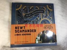 神奇动物在哪里纽曼剪报 美 Fantastic Beasts and Where to Find Them: Newt Scamander: A Movie Scrapbook