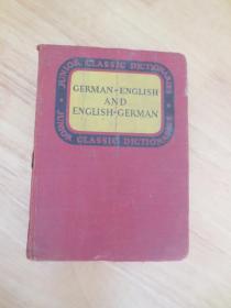 1937年 外文原版字典