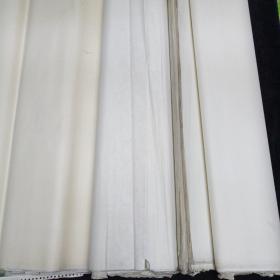 五六十年代老宣纸。(长1.3米,宽70)112张
