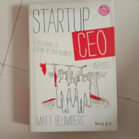 Startup CEO:A Field Guide to Scaling Up Your Business, + Website