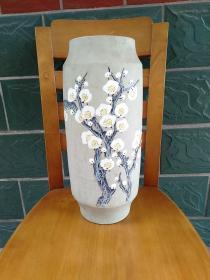 寒香:瓷花瓶 景德镇婺清画院出品·李东升作品
