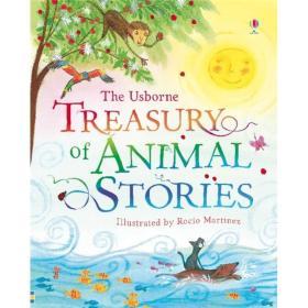 The Uborne Treasury of Animal Stories(动物故事)(精装绘本)6岁以上