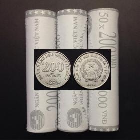 【亚洲】越南200盾外国硬币单枚硬币全新未流通2003年KM#71