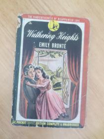 1947年 外文原版 Wuthering Heights(呼啸山庄)书口刷红