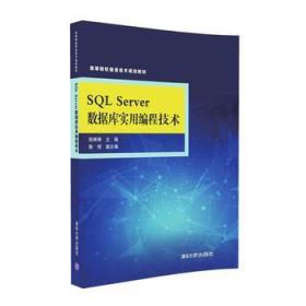 SQL Server 数据库实用编程技术(高等院校信息技术规划教材) 正版 陆琳琳、陈恒  9787302433668