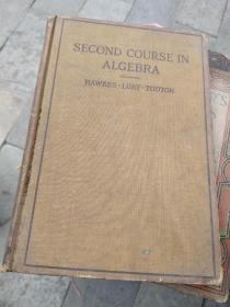SECOND COURSE IN ALGEBRA 代数学第二部课程