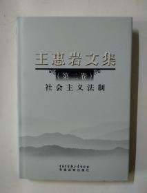 王惠岩文集(第二卷)社会主义法制