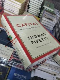 英文版  资本论 CAPITAL in the twenty - first century THOMAS PIKETTY