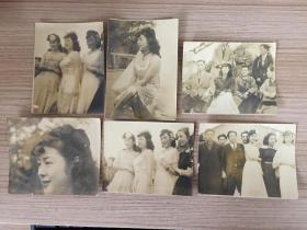 民國日本《年輕婦人》照片六枚