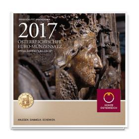 2017年奥地利发行特殊未流通版年版币卡装