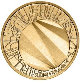 2012年芬兰发行赫尔辛基5欧元纪念铜币