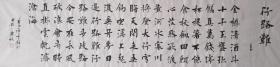 【保真】中书协会员徐传禄:李白《行路难·其一》