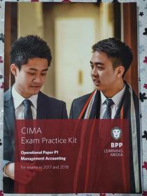 正版 CIMA P1 Management Accounting (Exam Practice Kit) For exams in 2017and2018 BPP LEANING MEDIA  9781509707065