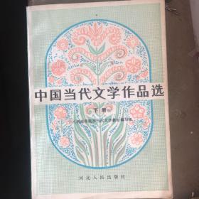 中国当代文学作品选下册