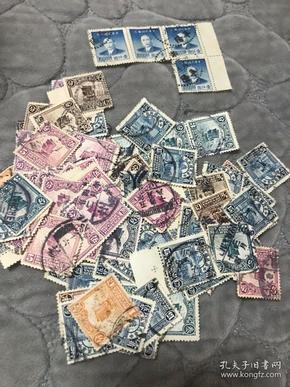 民国老邮票100张