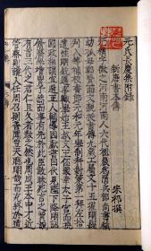 明万历三十二年(1604)马调元刻本《元氏长庆集》六十卷附补遗六册一函(全)(明版明印、在册善本、流传稀少)