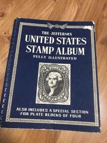 美国古典邮票册邮票几十张部分没拍照