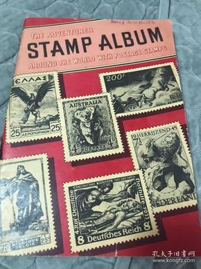 老邮票册邮票几十张