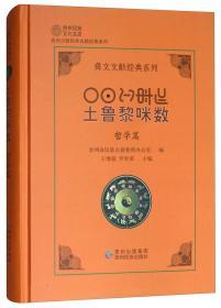 吐鲁黎咪数(哲学篇)/彝文文献经典系列