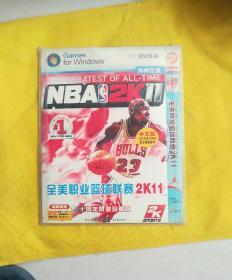 全美职业篮球联赛。2k11。十周年限量珍藏版。