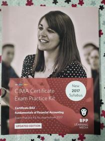 正版 CIMA BA3 Fundamentals of Financical Accounting (Exam Practice Kit) UPDATED EDITION For exams from 2017 BPP LEARNING MEDIA  9781509711680