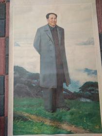 毛泽东主席 中堂 立轴画