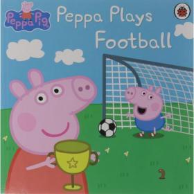 Peppa Pig: Peppa Plays Football小猪佩奇故事书:踢足球