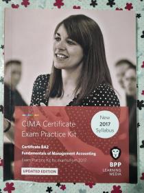 正版 CIMA BA2 Fundamentals of Management Accounting  (Exam Practice Kit) UPDATED EDITION For exams from 2017 BPP LEARNING MEDIA 9781509711673
