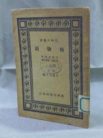 百科小丛书《植物园》矢部吉祯著 许心芸 朱成之译 商务印书馆 民国22年8月再版