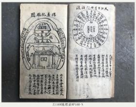 Z116#地理录#P160-N/清代古籍善本/孤本手抄本