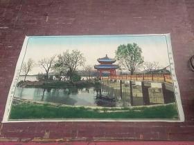 北京颐和园知春亭(纺织品)