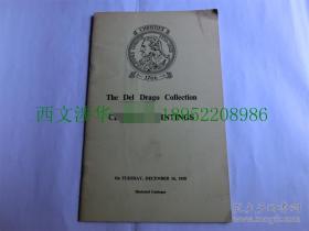 【原版包邮】佳士得 1958年 Del Drago  收藏中国绘画 24页 6幅图