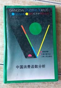 中国消费函数分析
