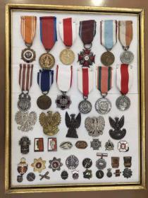 波兰 徽章 奖章 勋章 纪念章 波兰 合售
