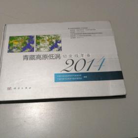 2014年青藏高原低涡切变线年鉴