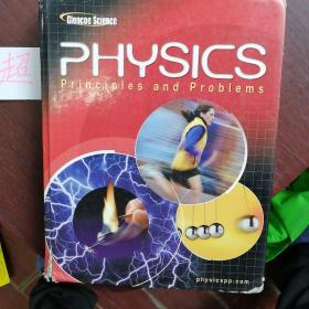 Physics: Principles and Problems (英语) 硬精装 物理 原理与问题