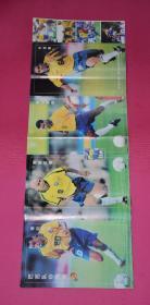 足球海报:巴西队珍藏版