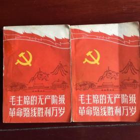 毛主席的无产阶级革命路线胜利万岁(上下全)