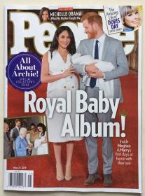 People 人物周刊 2019年 5月27日 NO.21 原版外文英文期刊