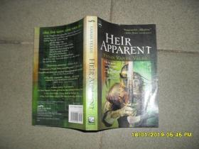 HEIR APPARENT(8品32开书名页有字迹前10页右下角有水渍2002年英文版315页《法定继承人》)43832