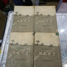 边荒大侠(全四册)清代北派尚武小说