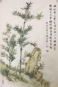 【保真】山西美协会员、知名画家谭凤田小品画