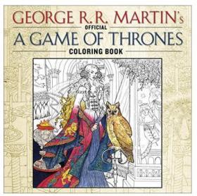 Game Of Thrones Coloring Book 《权力的游戏》涂色本