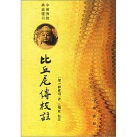 中国佛教典籍选刊---比丘尼传校注