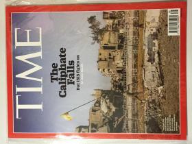 TIME 时代周刊 2017年 11月6日 NO.38 原版外文英文期刊