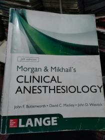 Morgan & Mikhails  CLINICAL  ANESTHESIOLOGY(5th edition)
