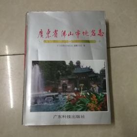 广东省佛山市地名志