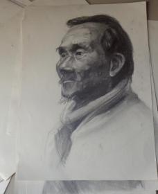 素描人物画原稿13