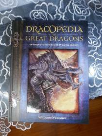 订购 龙设定 Dracopedia The Great Dragons: An Artists Field Guide and Drawing Journal